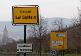 Leiche in Bad Dürkheim gefunden