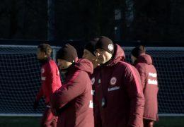 Trainingsauftakt bei der Eintracht