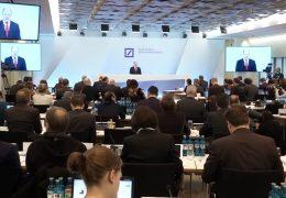 Deutsche Bank legt Jahresbilanz vor