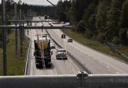 Strom-LKW auf der A 5
