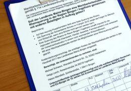 11.000 Unterschriften für Rheinbrücke bei Bingen