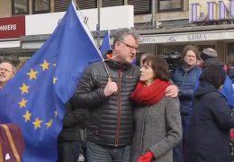 Demo für Europa in Frankfurt