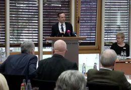 Volker Wissing diskutiert mit Kreistag in Simmern