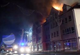 Brand in Gelnhausen