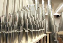 5500 Pfeifen für Sankt Martinskirche
