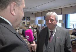 Bouffier besucht Serbien und Albanien