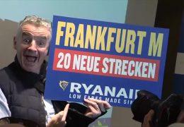 Ryanair gibt in Frankfurt Gas