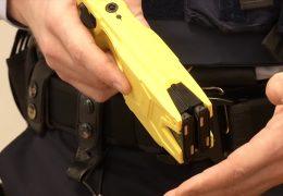 Polizei testet Taser