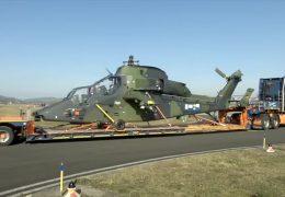 Kampfhubschrauber starten in den Mali-Einsatz