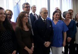 José Carreras eröffnet Spezialambulanz für Krebspatienten
