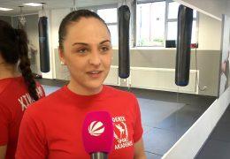 Angelika Feit holt Vizeweltmeistertitel im Thaiboxen