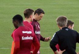 Englische Woche: Frankfurt gegen Köln