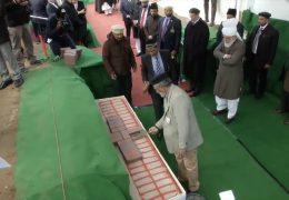 Spatenstich für eine Moschee