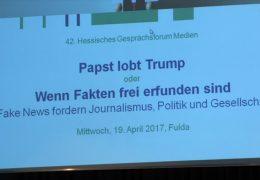 """LPR-Veranstaltung zum Thema """"Fake-News"""""""