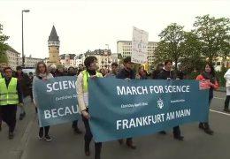Eine Demo für den Klimaschutz