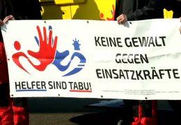Kampagne gegen Angriffe auf Rettungskräfte