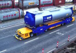 BASF testet selbstfahrende Transportsysteme