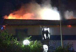 Hotel in Mülheim-Kärlich geht in Flammen auf