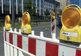 Frankfurt meldet für die Sommermonate über 100 Baustellen