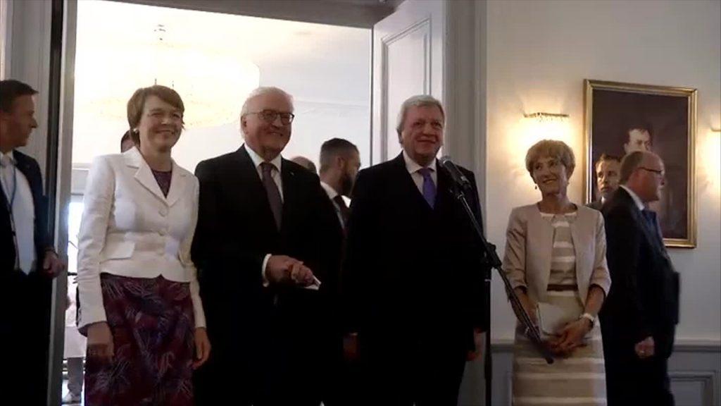 Bundespräsident besucht Hessen