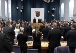 Parlament in Mainz gedenkt Helmut Kohl