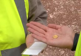 Goldfund bei Landtagsumbau