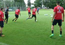 Trainingsauftakt bei Mainz 05