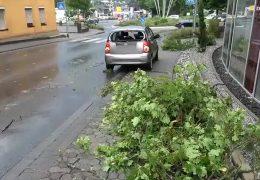 Unwetter in Hessen und Rheinland-Pfalz