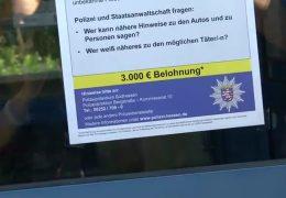 Belohnung für Viernheimer Hinterhof-Schützen ausgesetzt
