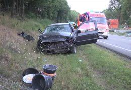 Tödlicher Unfall auf der A 4 und wieder stören Gaffer
