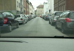 Die Parkplatzjagd in Frankfurt