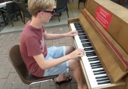 Koblenz lädt zum Klavierspielen ein