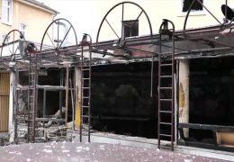 Explosion in Shisha-Bar