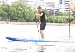 Stand-Up-Paddling in Frankfurt