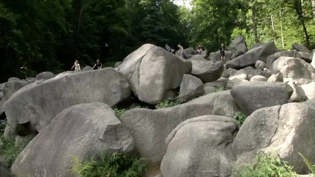 Wandern im Odenwälder Felsenmeer