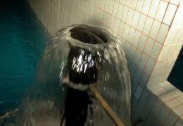 Wasser auf die gute Nachbarschaft