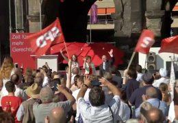 SPD-Wahlkampfauftakt in Trier