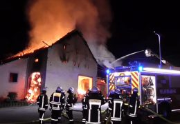 Reiterhof bei Trier abgebrannt