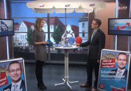 Ihre Wahl 2017: Zu Gast im Studio ist Sebastian Münzenmaier