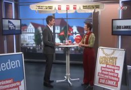 Ihre Wahl 2017: Zu Gast im Studio ist Sabine Leidig, DIE LINKE Hessen
