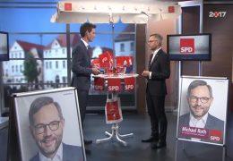 Ihre Wahl 2017: Zu Gast im Studio ist Michael Roth, SPD Hessen