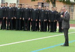 Neue Schule der Bundespolizei in Diez