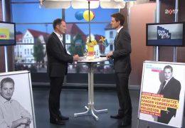 Ihre Wahl 2017: Zu Gast im Studio Manuel Höferlin, FDP Rheinland-Pfalz