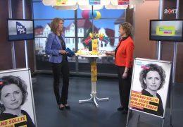 Ihre Wahl 2017: Zu Gast im Studio ist Nicola Beer, die Spitzenkandidatin der hessischen FDP
