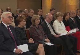 Tag der Deutschen Einheit mit den Spitzen der Politik