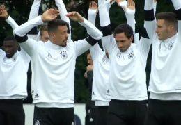 Nationalmannschaft trainiert für WM-Quali gegen Nordirland