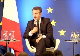 Macron zu Besuch an der Frankfurter Goethe-Uni