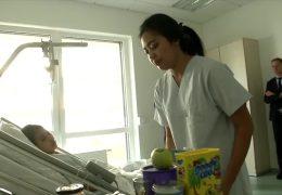 Vietnamesiche Pflegekräfte gegen den Notstand