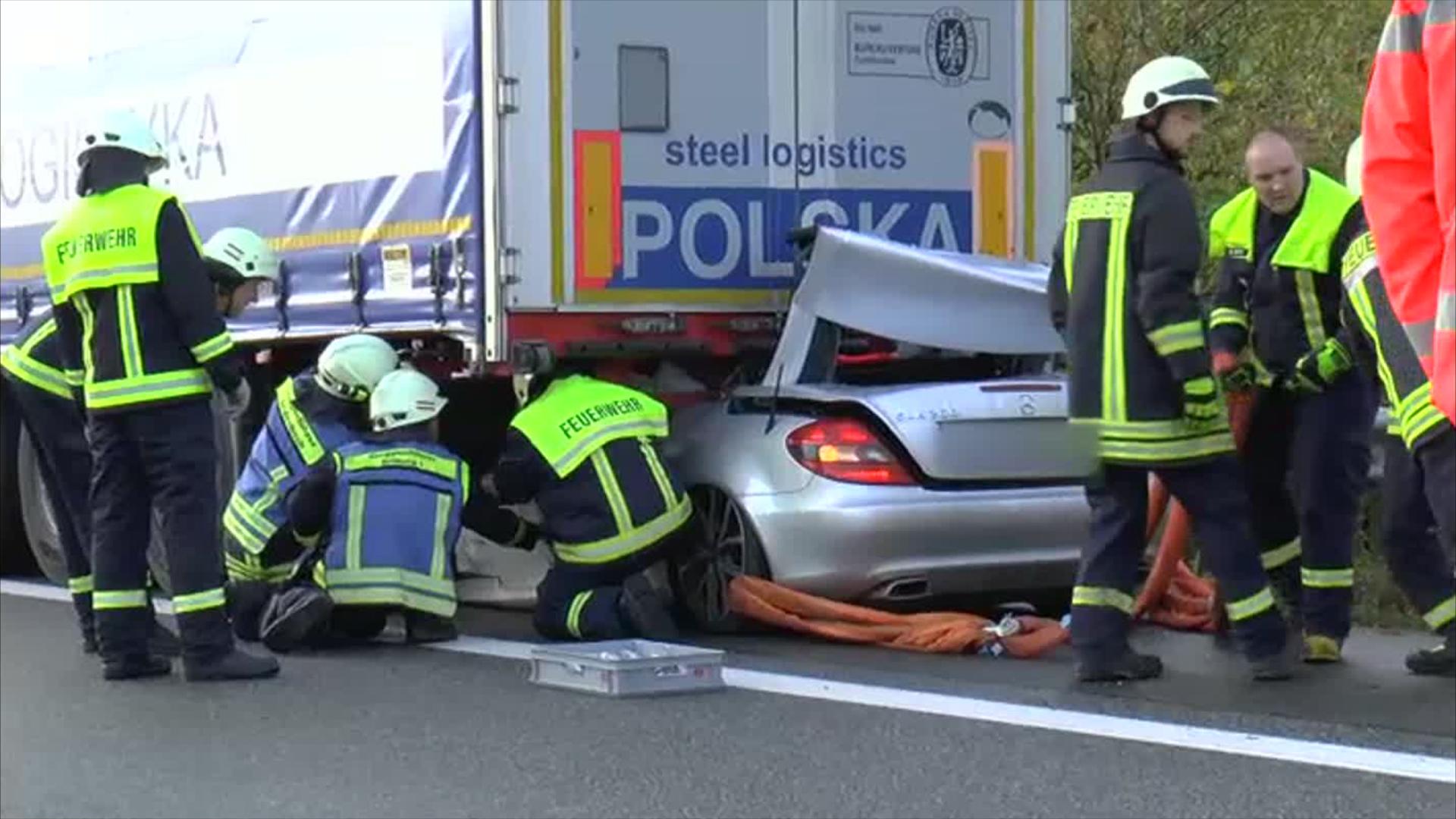 Unfall A60 Heute