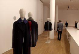 Jil Sander eröffnet Ausstellung in Frankfurt